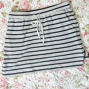 Super Cute Loft Striped Mini Skirt sz S